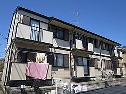 千葉県四街道市みのり町の賃貸アパートの外観
