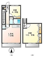 La Zona rosa(ラゾナローザ)[1階]の間取り