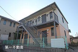 兵庫県加東市藤田の賃貸アパートの外観