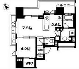 シティハウス目黒学芸大学[3階]の間取り