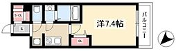 ADVANCE NAGOYA MOXIE 10階1Kの間取り