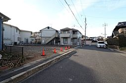 前面道路を含む現地写真(2019年2月撮影)