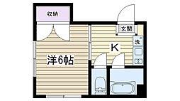 コーポSAKAIRI[303号室]の間取り