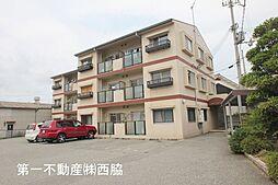 兵庫県西脇市下戸田の賃貸マンションの外観