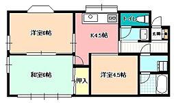 [一戸建] 長野県飯田市松尾明 の賃貸【/】の間取り