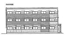 ラピュタテラスA[2階]の外観