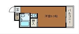 マドレーヌ原町田[3階]の間取り