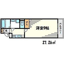 シェリール武庫之荘[2階]の間取り