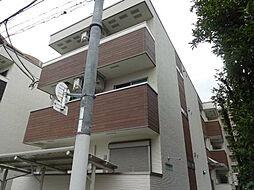 大阪府大阪市住之江区北加賀屋5の賃貸アパートの外観