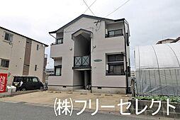 福岡県福岡市博多区那珂4丁目の賃貸アパートの外観