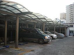 石渡燃料店横駐車場