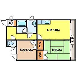 北海道札幌市東区北十一条東1丁目の賃貸マンションの間取り