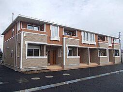 徳島県板野郡藍住町東中富字敷地傍示の賃貸アパートの外観