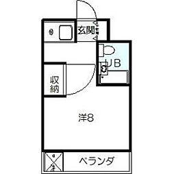 日本スタンダードビル[503号室]の間取り