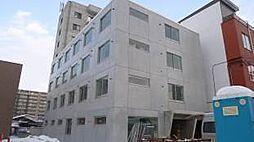 北海道札幌市白石区菊水七条4の賃貸マンションの外観