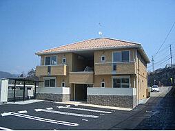 広島県広島市安佐南区長楽寺2丁目の賃貸アパートの外観