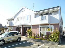 静岡県磐田市三ケ野台の賃貸アパートの外観