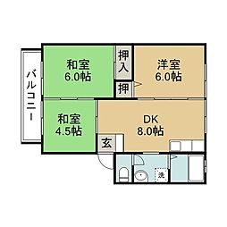 滝尾駅 3.7万円