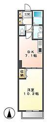 パークアクシス白壁[12階]の間取り