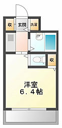ジョイフル武庫川[1階]の間取り