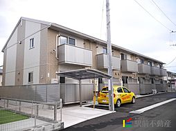 ビジュアムールA[1階]の外観
