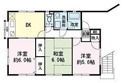 並木アパート[1階]の間取り