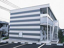 兵庫県西宮市山口町上山口2丁目の賃貸アパートの外観