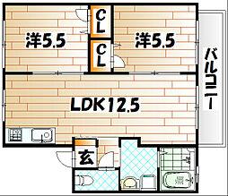 AD HOC(アドホック)[2階]の間取り
