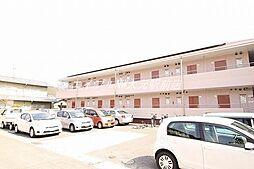 岡山県岡山市北区津島本町の賃貸アパートの外観