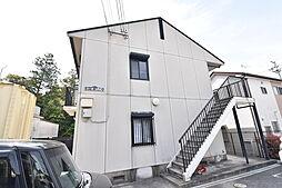 滋賀県草津市追分5丁目の賃貸アパートの外観