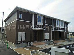 香川県高松市下田井町の賃貸アパートの外観