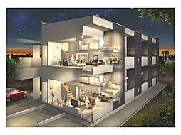 新築アパート TYPE-D[2階]の外観