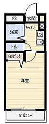 サンハイツ湘南[304号室]の間取り