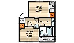 エストマーレ鶴見1番館[5階]の間取り
