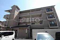 京都府京都市左京区岩倉三宅町の賃貸マンションの外観