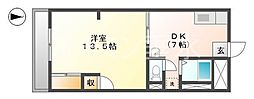 オレンジHILL・T[4階]の間取り