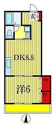 タイムズマートビル[3階]の間取り