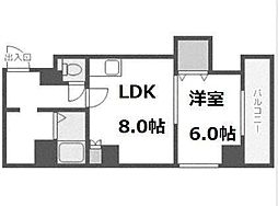 ベルテ手稲前田[3階]の間取り