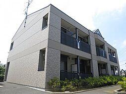 千葉県千葉市稲毛区萩台町の賃貸マンションの外観