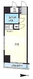 東京都台東区浅草橋2丁目の賃貸マンションの間取り