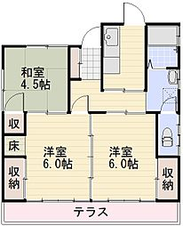 [一戸建] 長野県長野市大字稲葉母袋 の賃貸【/】の間取り