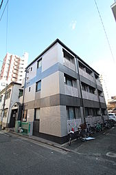 家具・家電付きライベストコート白金[1階]の外観