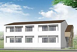 新築パディーII[2階]の外観