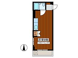 パークアベニュー八沢[2階]の間取り