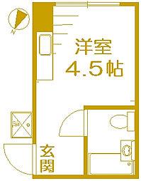 高島マンション[103号室]の間取り