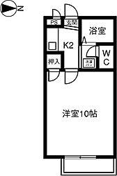 SUCーSEED93[1階]の間取り