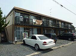 内山コーポ A棟[203号室]の外観