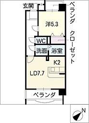 プレールアミ[3階]の間取り