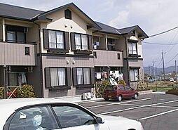 鹿児島県霧島市隼人町見次の賃貸アパートの外観