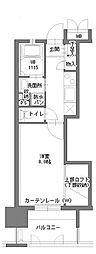 アクタス博多Vタワー3番館[6階]の間取り